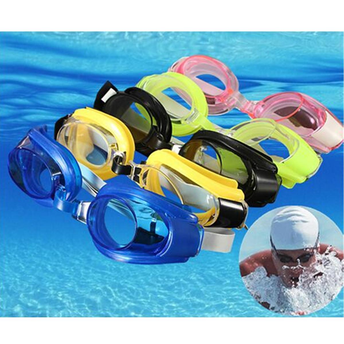 Piscine goggles uv lunette natation plong e adulte bouchon for Bouchons oreilles piscine