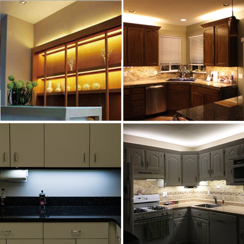 Kitchen Under Cabinet Counter LED Light Kit Warm White