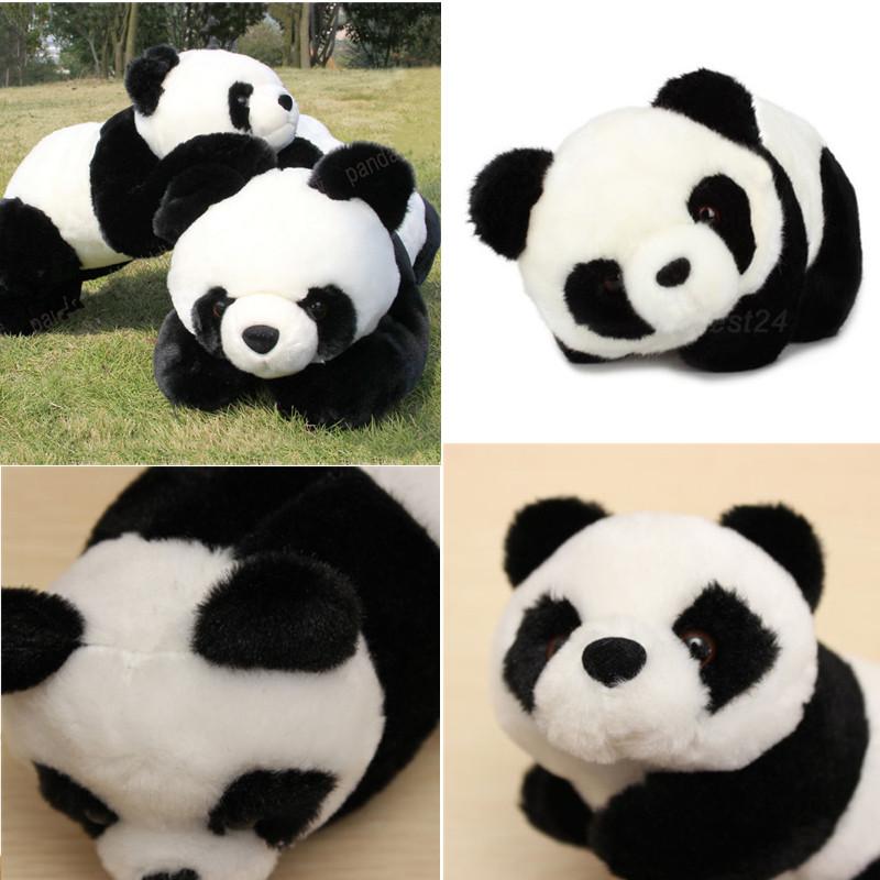 Stuffed toy panda girl pink dildo in ass 7