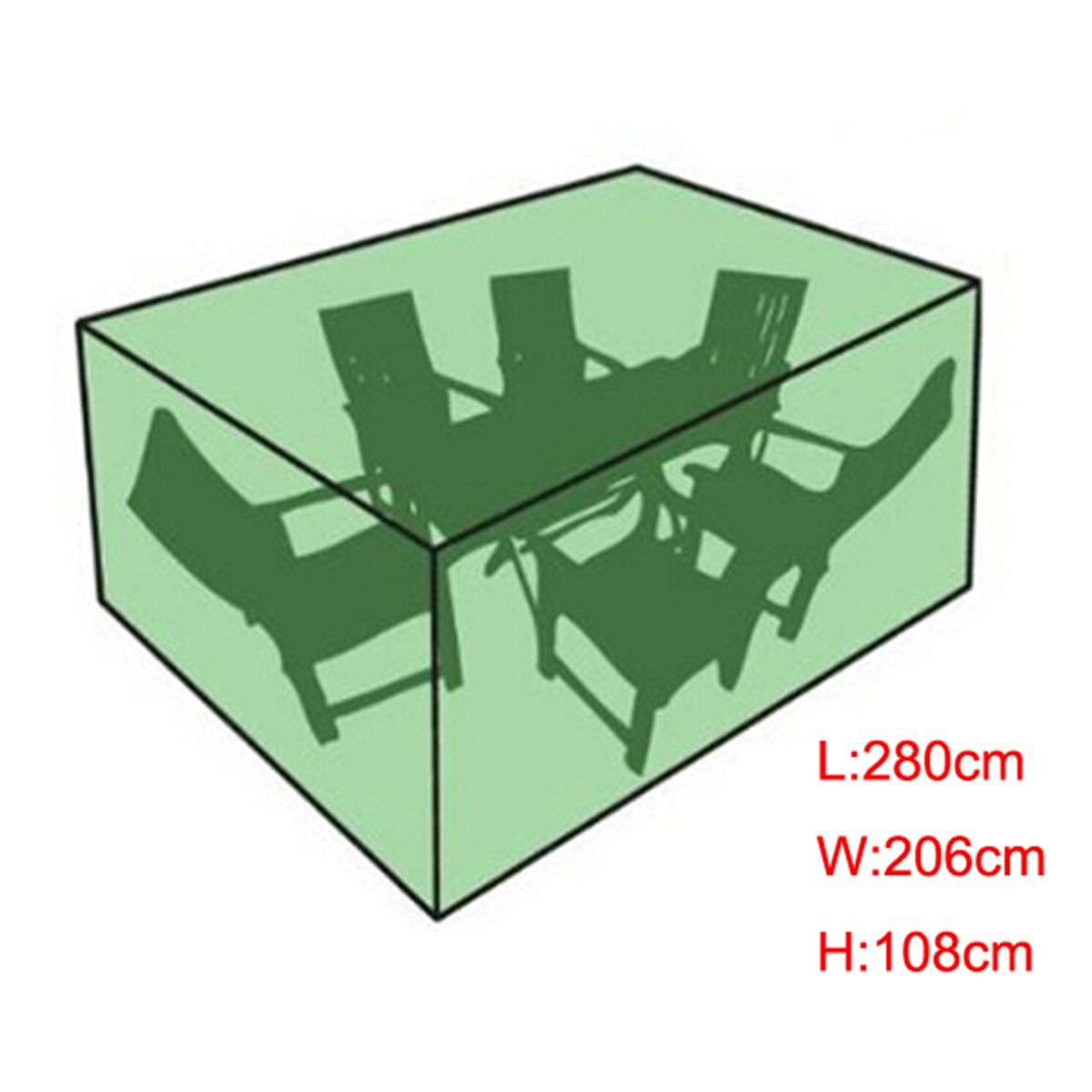 Waterproof Outdoor Furniture Cover Patio Dining Table