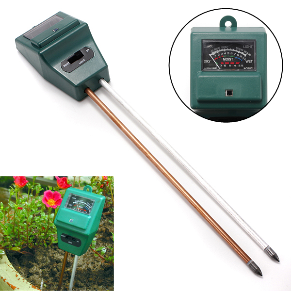 how to read a soil ph meter