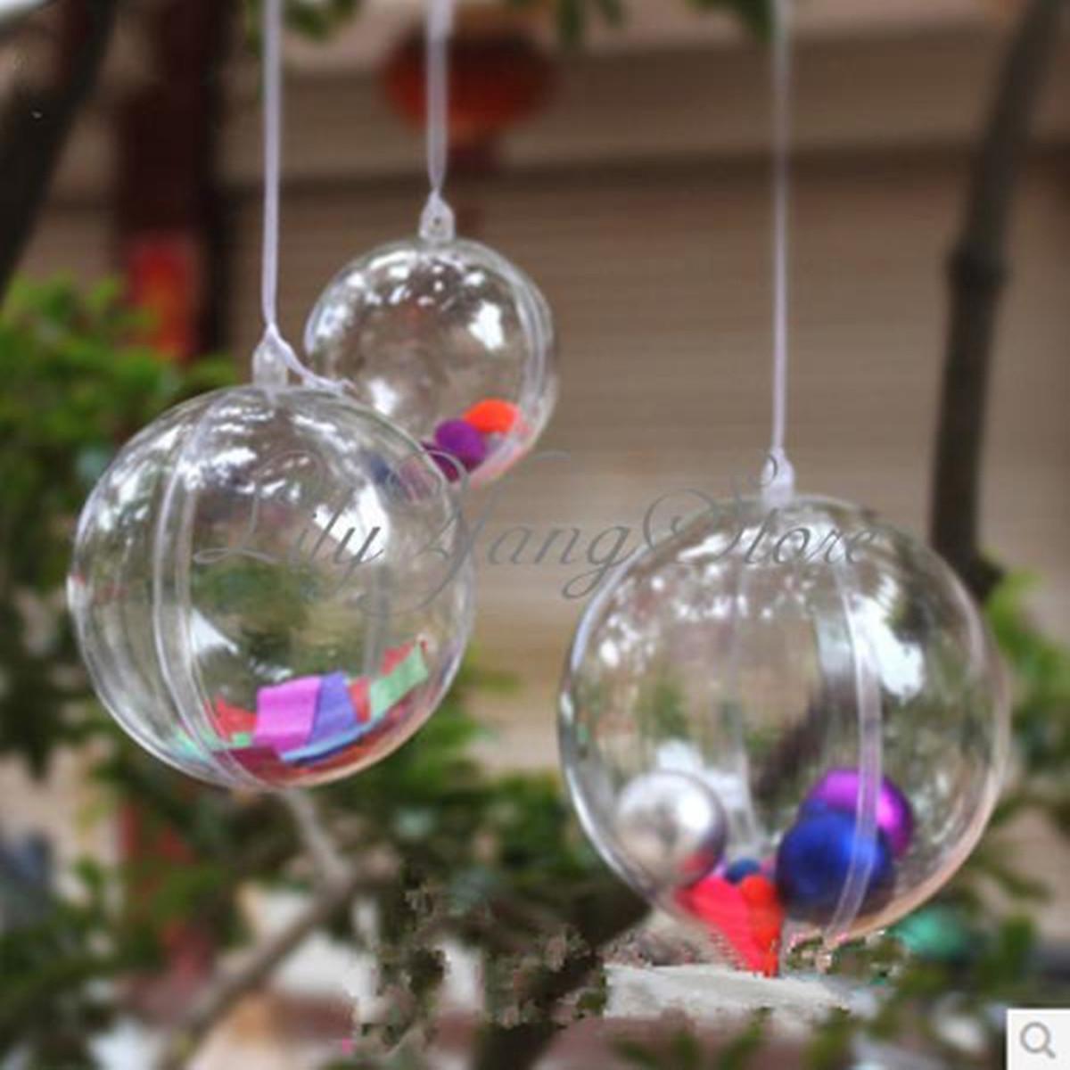 Декор прозрачного шара