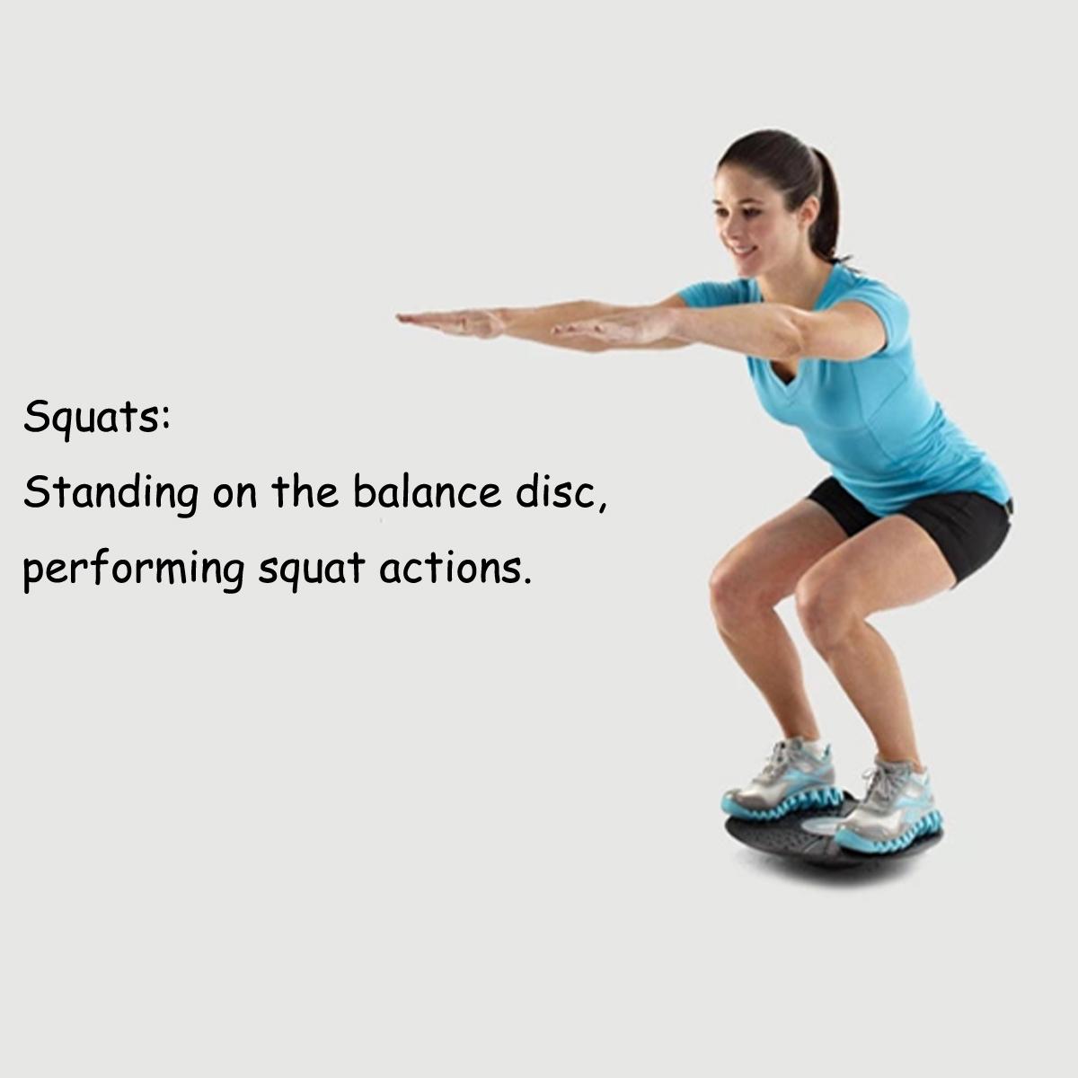 Balance Board Exercises For Knee: Autoleader 36cm Balance Board Fitness Wobble Yoga Pilates