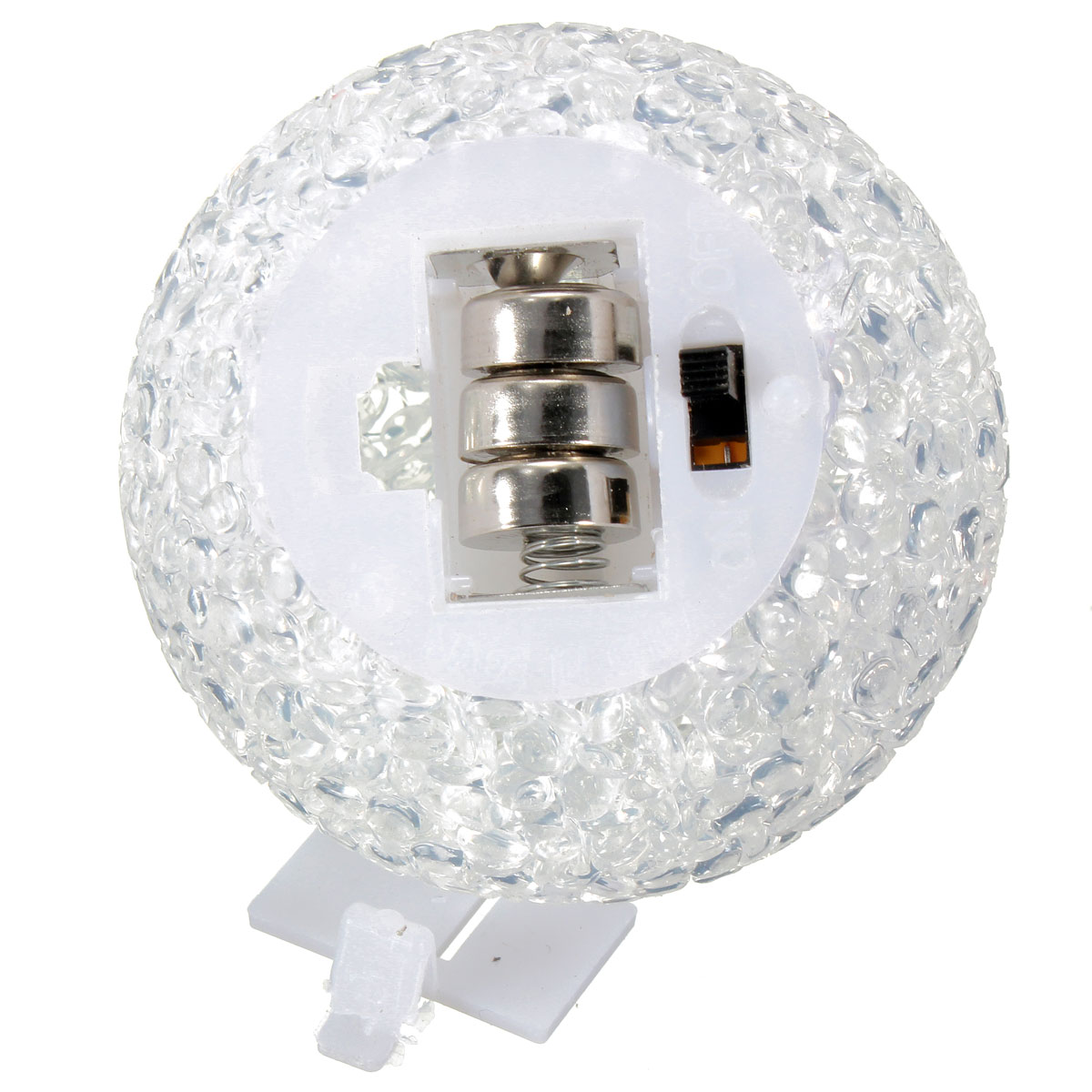 Color Changing Led Crystal Ball Night Light Room Wedding
