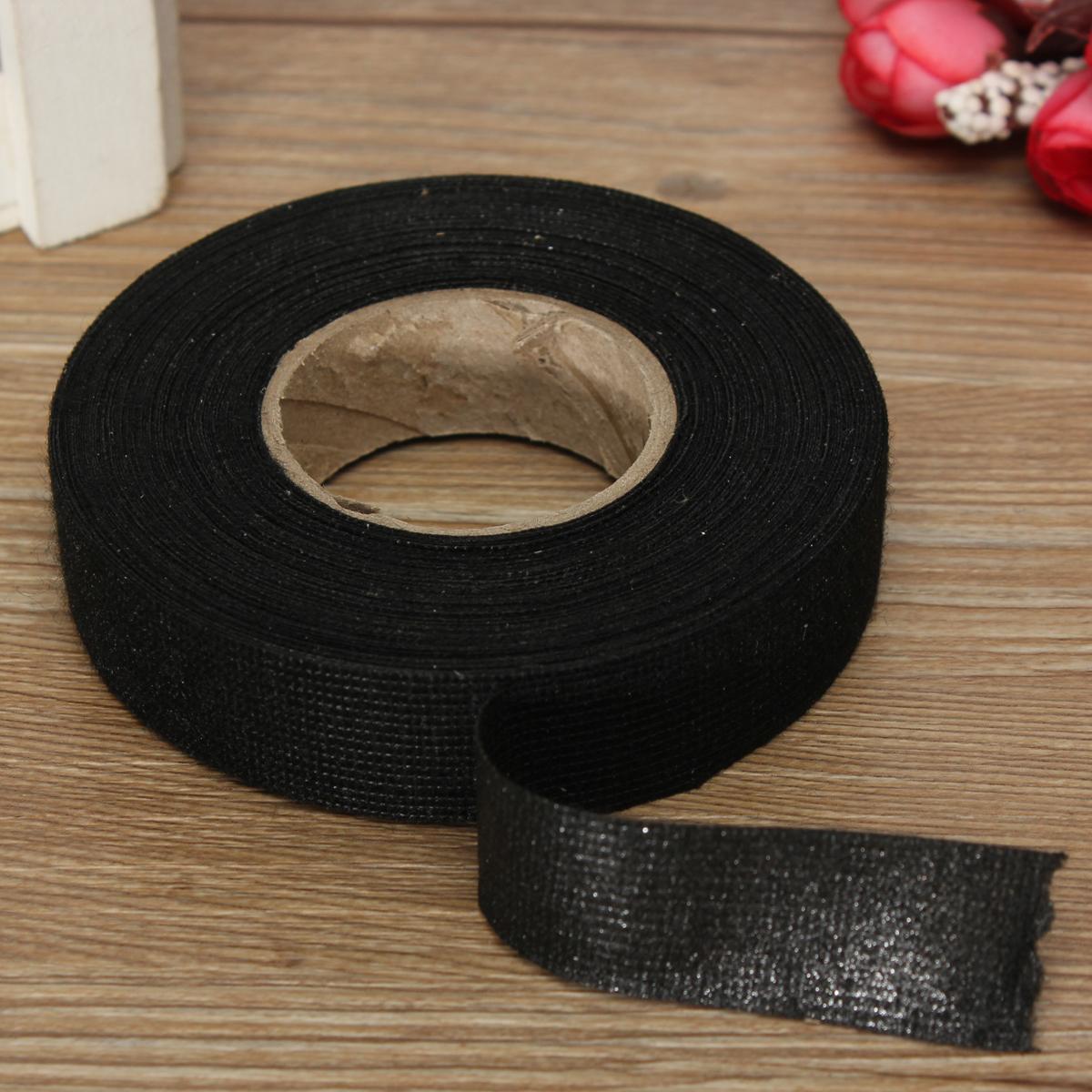 Wiring Loom Harness Adhesive Cloth Fabric Tape : Mmx m hot adhesive cloth fabric tape cable looms