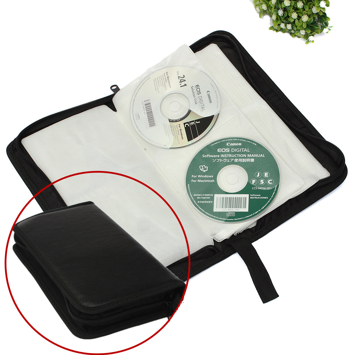 classeur rangement boite pochette etui range 80 cd dvd sac sacoche plastique achat vente