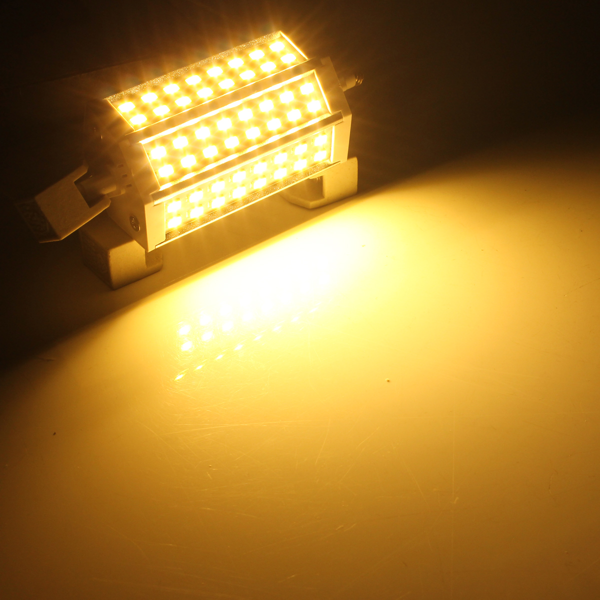 r7s dimmable 118mm 18w 48 smd 5730 led lamp energy saving. Black Bedroom Furniture Sets. Home Design Ideas