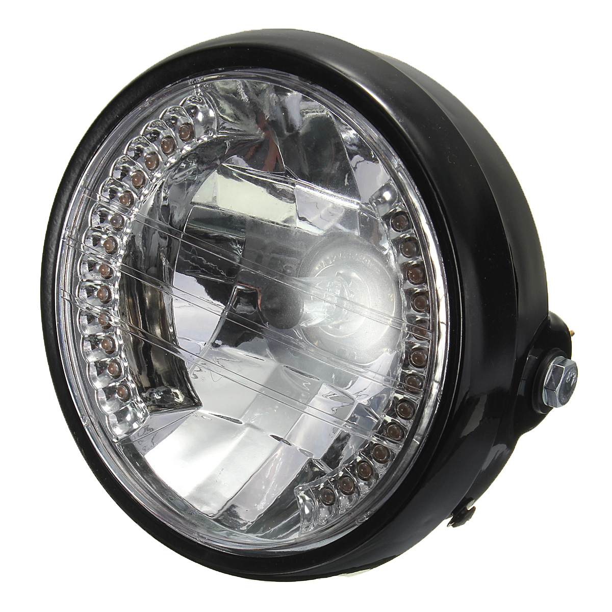 7 inch 35w motorcycle h4 halogen headlight halo lamp led turn signal for honda light lazada. Black Bedroom Furniture Sets. Home Design Ideas