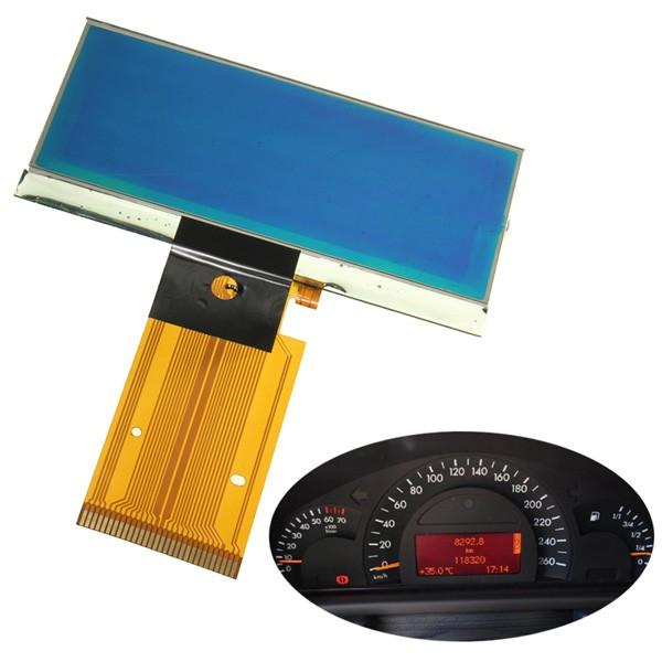 Velocímetro de Vidrio con Pantalla LCD para Mercedes W203 C230 C240 C320