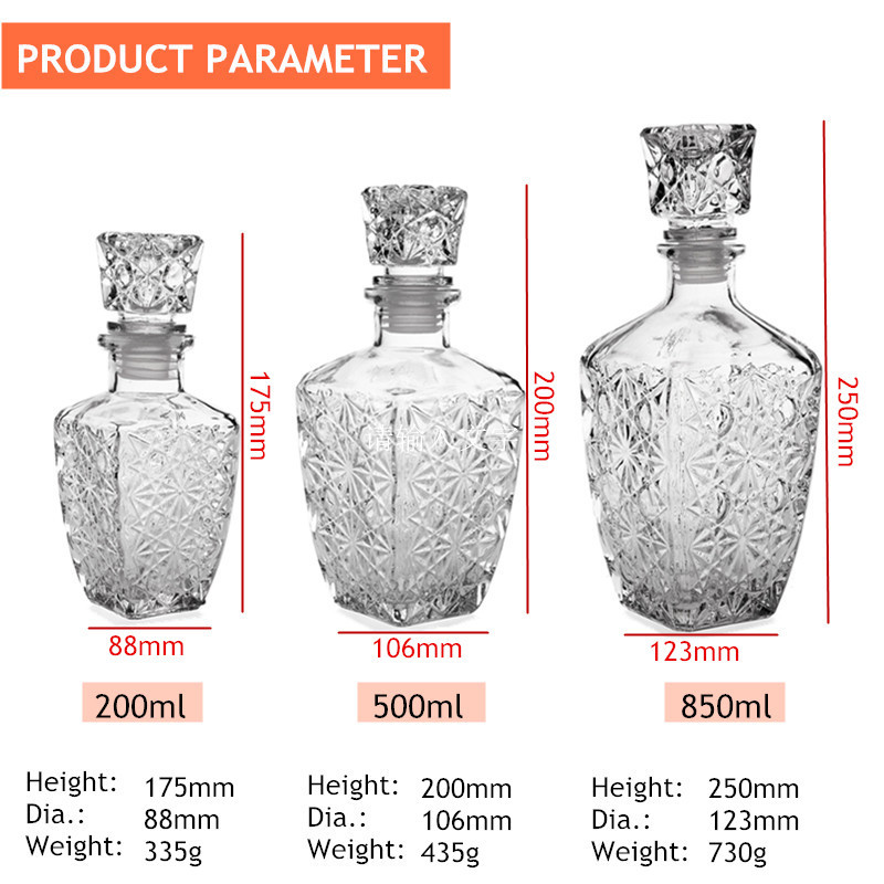 whiskey wine drinking glass decanter wine crystal bottle carafe alex nld. Black Bedroom Furniture Sets. Home Design Ideas