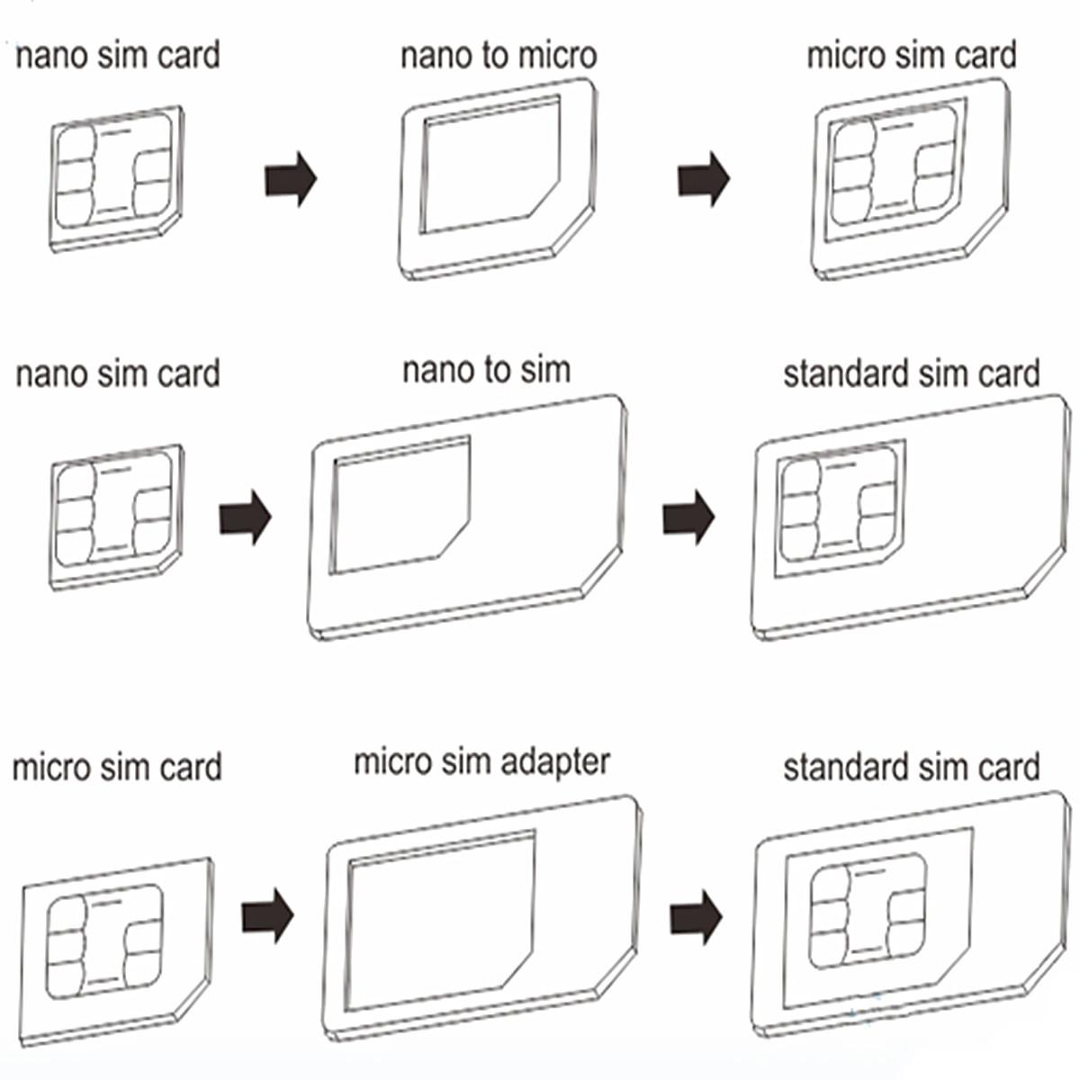 Как из нано сим карты сделать микро сим
