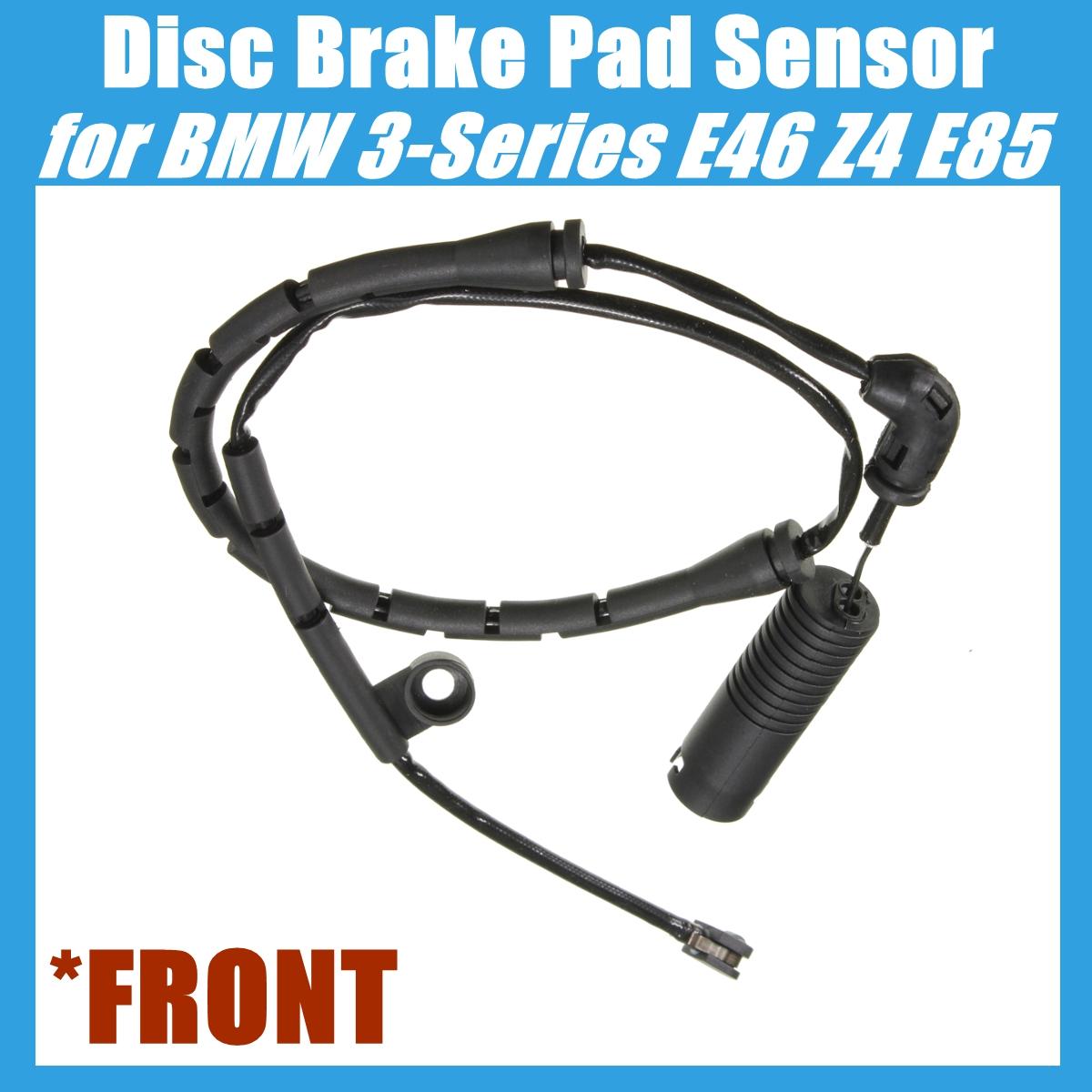 Front Disc Brake Pad Sensor For Bmw E46 E85 320i 323ci