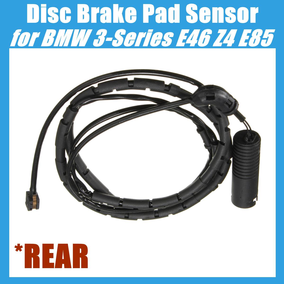 Rear Disc Brake Pad Sensor For Bmw E46 E85 320i 323ci 323i