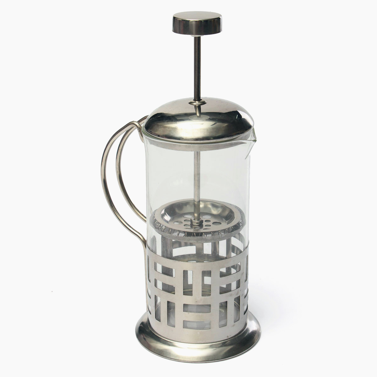 Stainless Steel French Press Coffee Cup Tea Maker Cafetiere Filter Press 350ml Lazada Malaysia