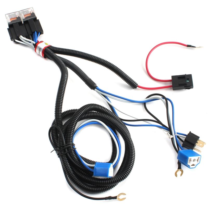 universal h4 headlight booster wire hid xenon halogen. Black Bedroom Furniture Sets. Home Design Ideas