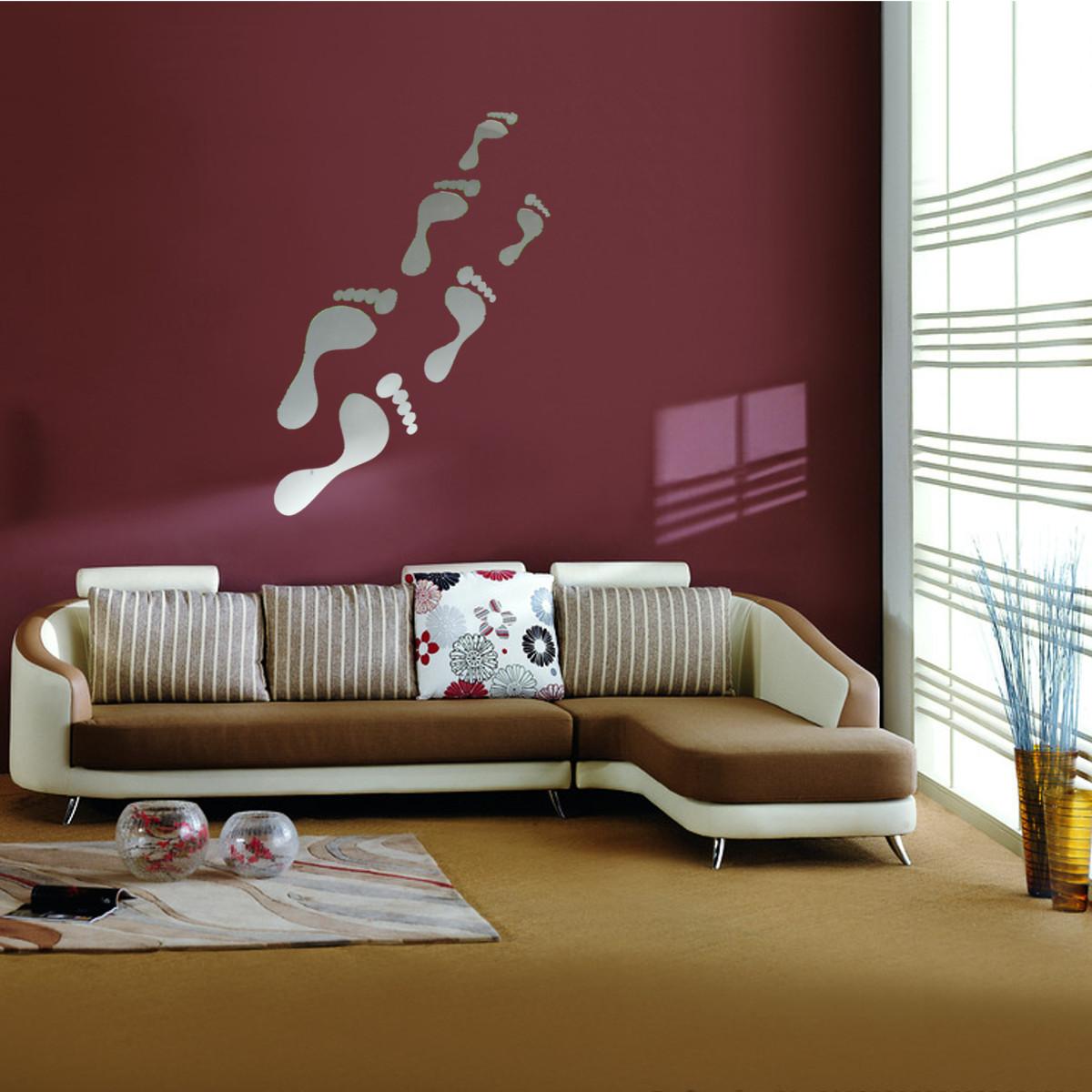 Diy Wall Decor For Office : Modern d mirror acrylic home room office diy decor art