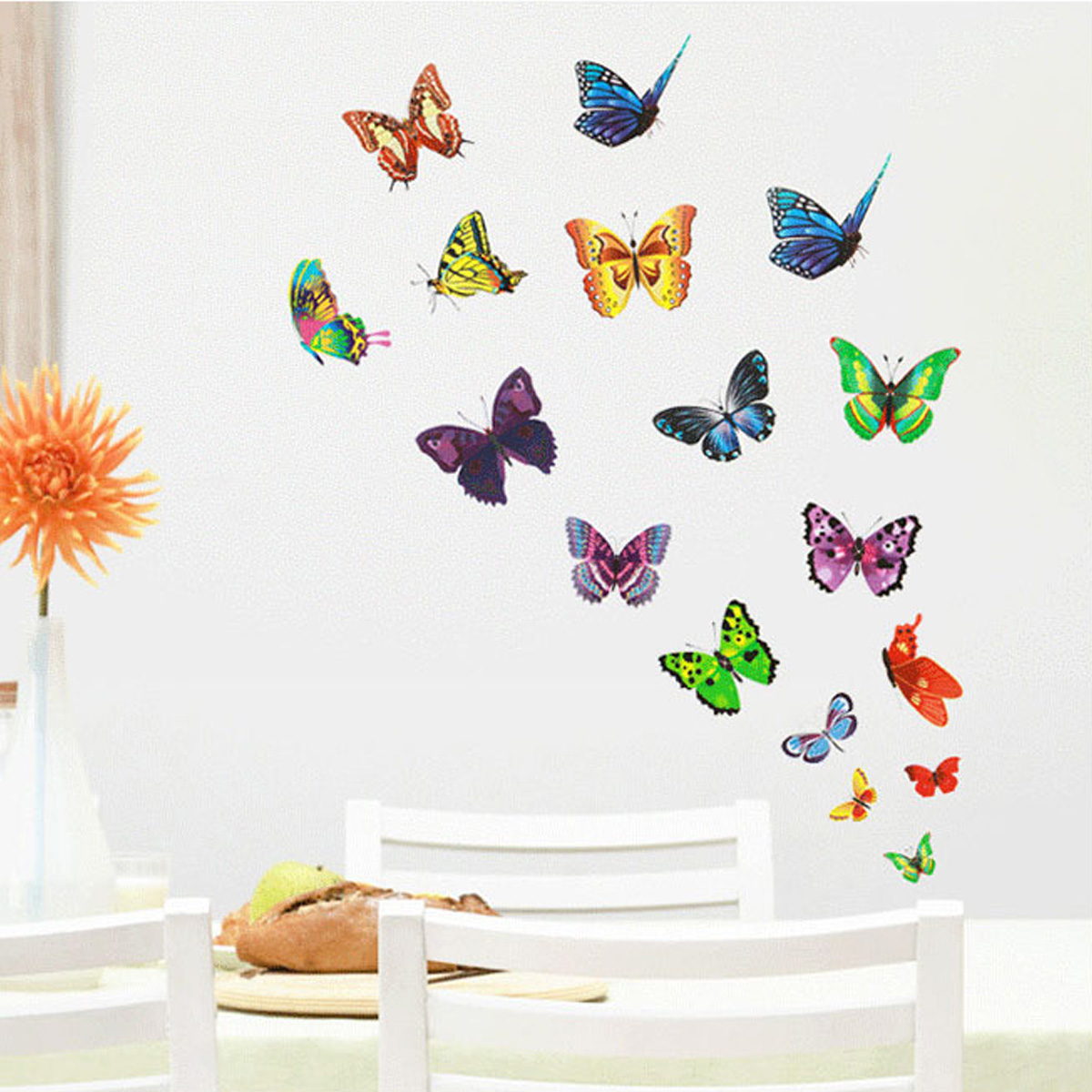 Diy family removable art wall sticker mirror decal mural for Diy photo wall mural
