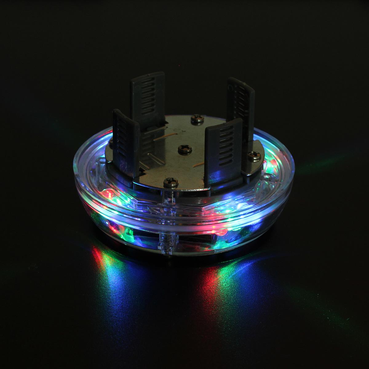 4 Modes 12 Led Car Solar Energy Wheel Tire Rim Light Lamp