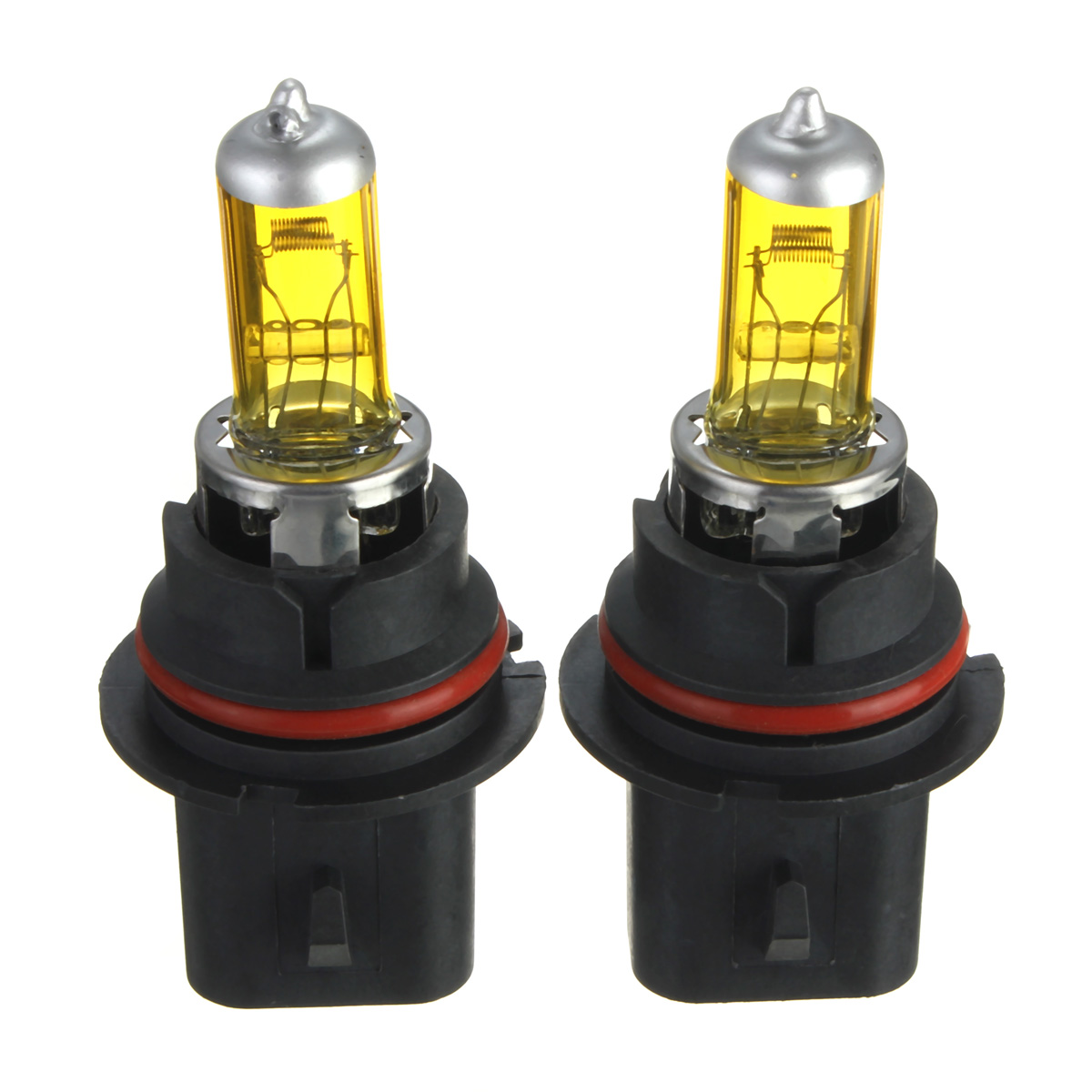 A Pair Of 9004 Hid Xenon Light Bulbs Lamps Dc12v Yellow 3000k 3500k Alex Nld