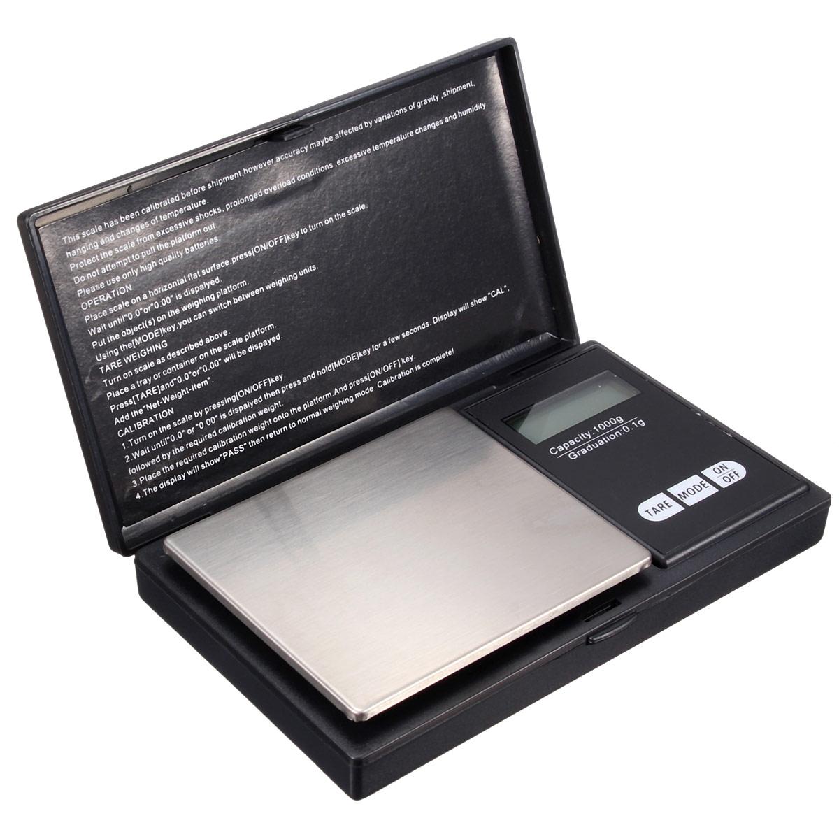 Lcd 1000g x mini professional digital jewelry pocket for Mini digital jewelry pocket gram scale