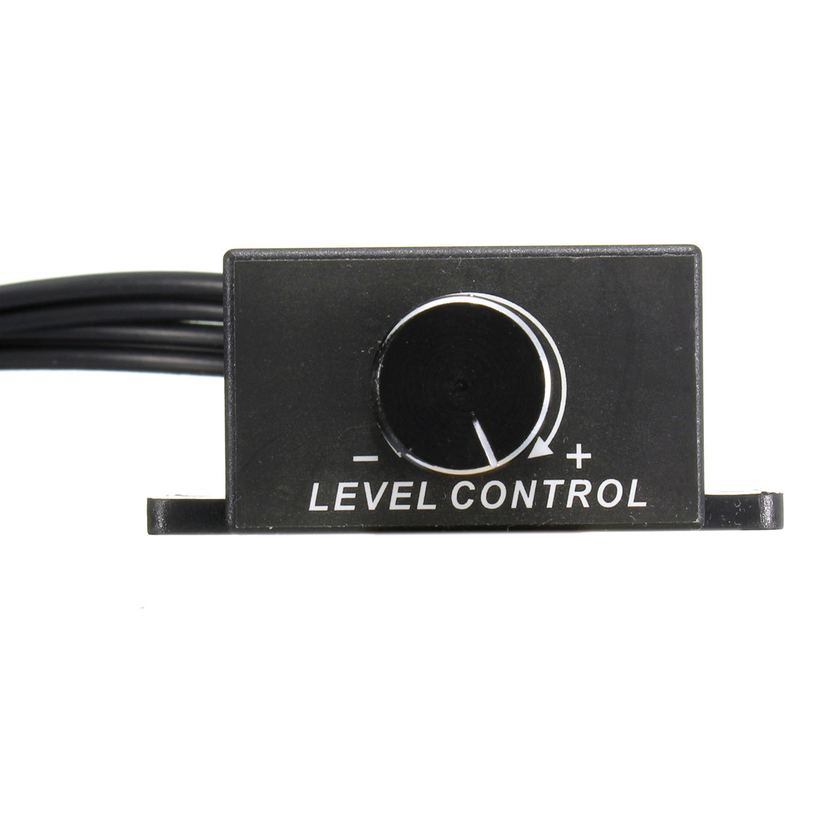 Remote Volume Control : Car audio amplifier bass rca level remote volume control