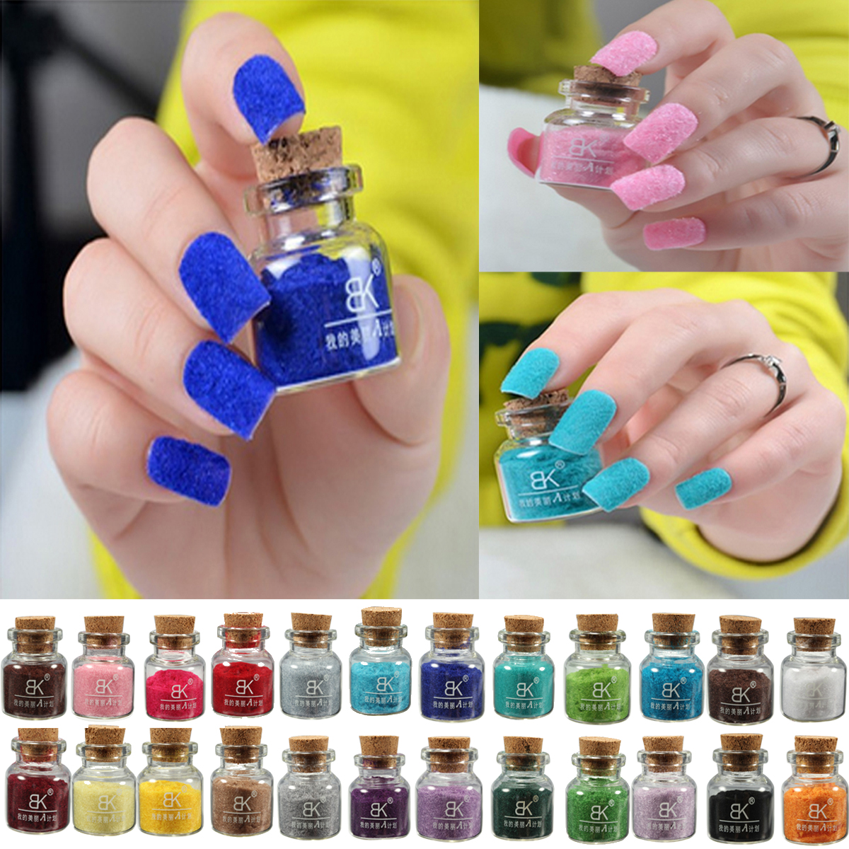 Colored Nail Powders ~ the best inspiration for design and color of ...