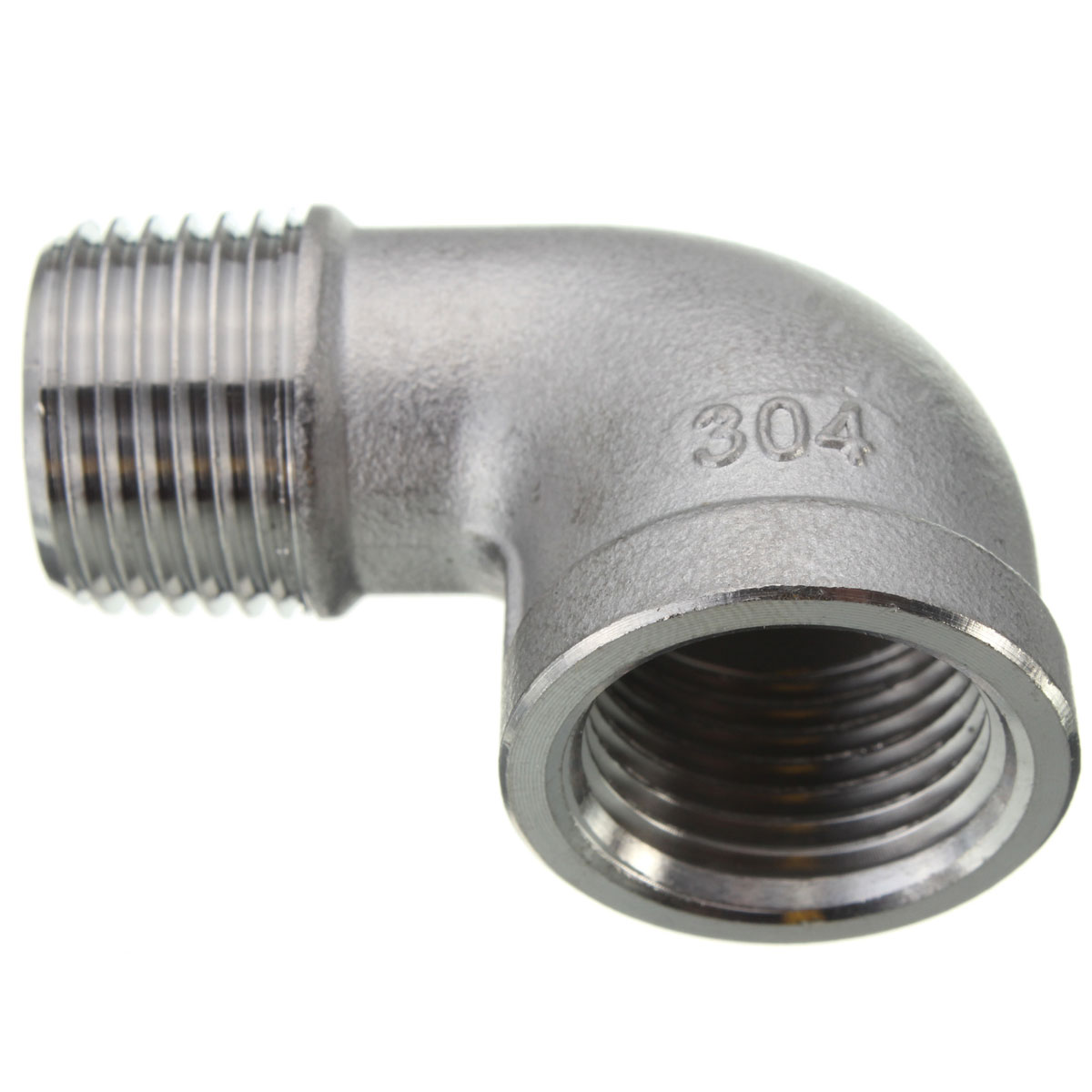 Female male street elbow threaded pipe fitting