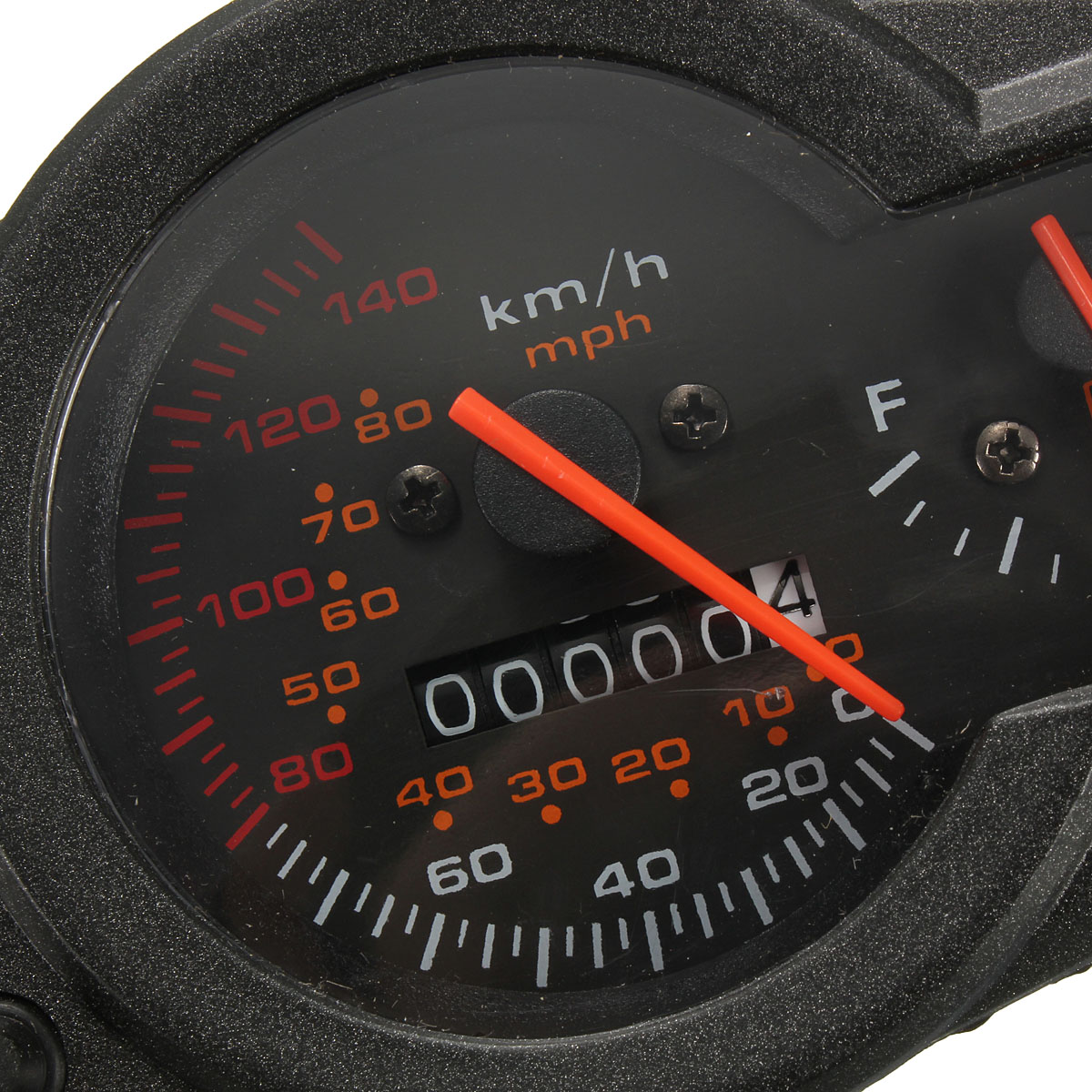 pointer mph kmh motorcycle odometer speedometer fuel level table universal gauge ebay. Black Bedroom Furniture Sets. Home Design Ideas