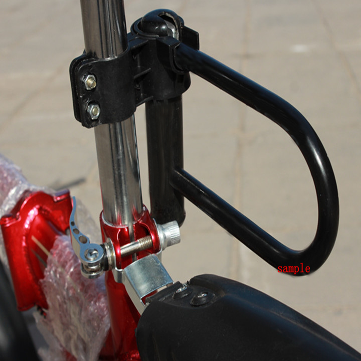 universal motorcycle bike bicycle u lock security anti theft lock bracket 20cm ebay. Black Bedroom Furniture Sets. Home Design Ideas