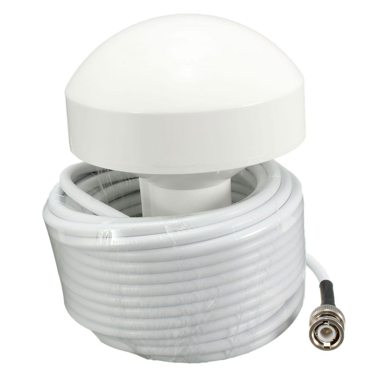 External Marine Boat GPS Receiver Antenna BNC Male Plug Connector 10  #5D4E3C