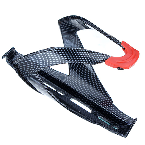 Carbon Fiber Texture Bicycle Water Bottle Holder Advanced Bicycle Bottle Cage