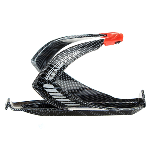 Carbon Fiber Fiets Bottle Cage Plastic Textuur Water Bottle Holder Cup Holders