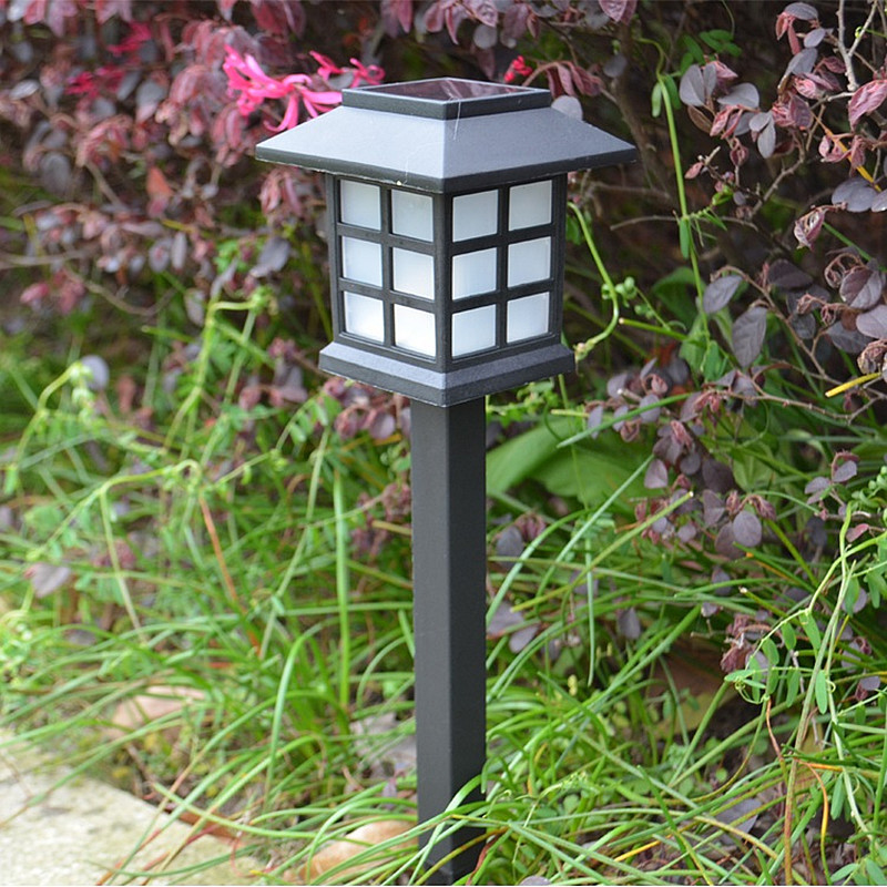 2 x outdoor solar oriental led lawn end 5 18 2018 415 pm for Oriental outdoor lighting