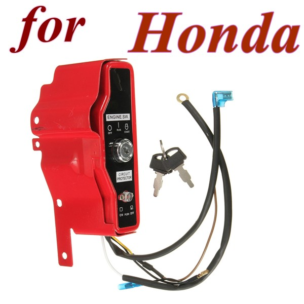 ignition switch control box with 2 keys for honda gx390 13hp gx340