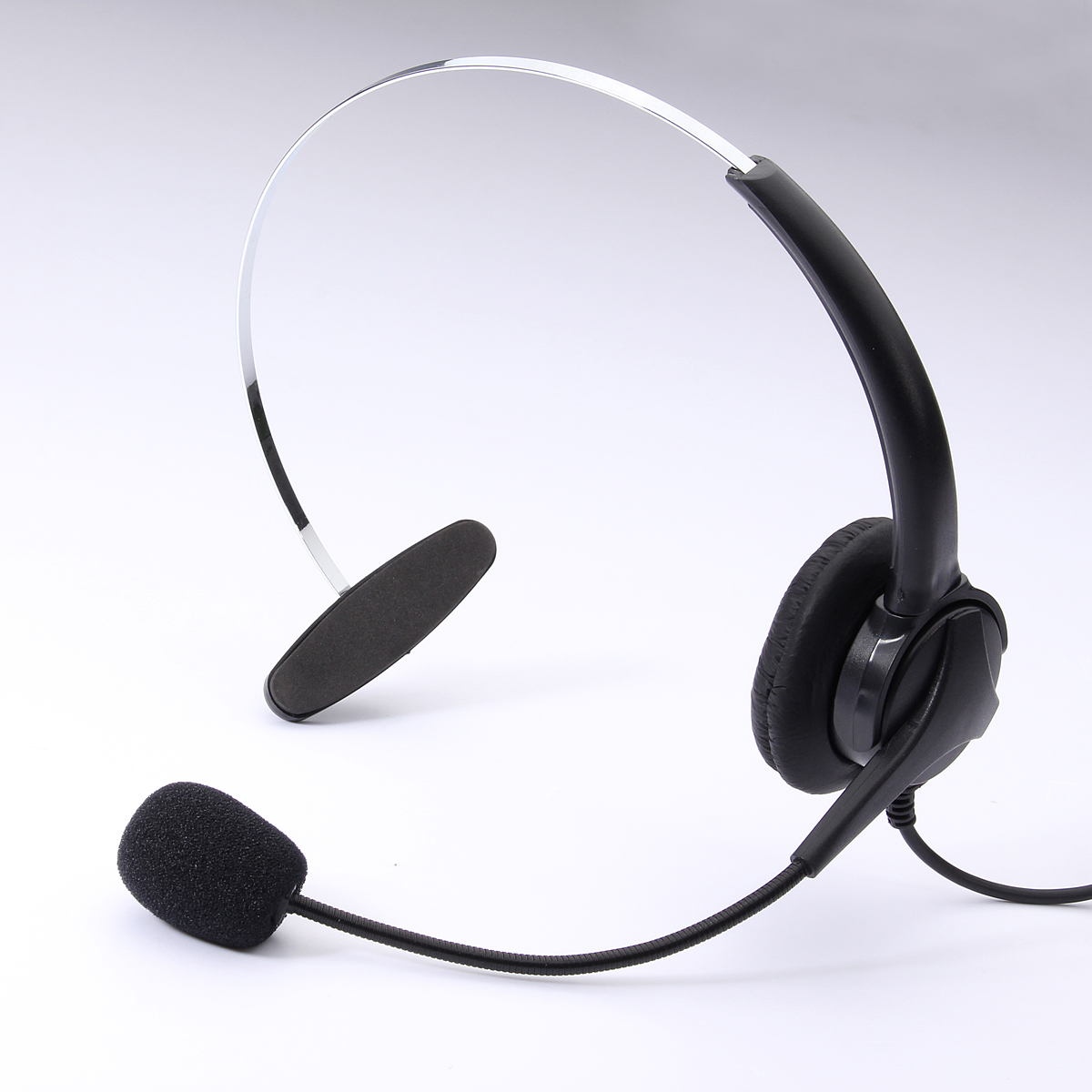 Telephone Headset Noise Cancelling Microphone RJ11 Headset