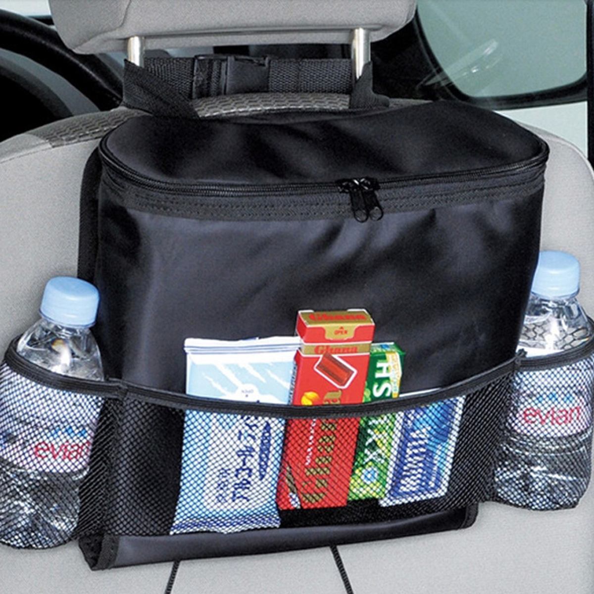 car back seat organizer multi pocket storage bag travel. Black Bedroom Furniture Sets. Home Design Ideas
