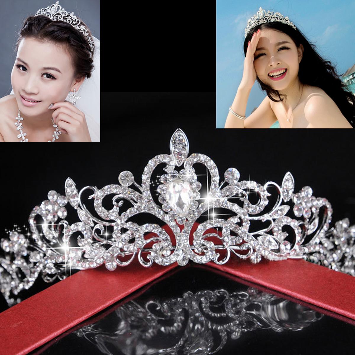 diadme couronne strass bijoux cheveux diadme cristal bri - Diademe Mariage Pas Cher