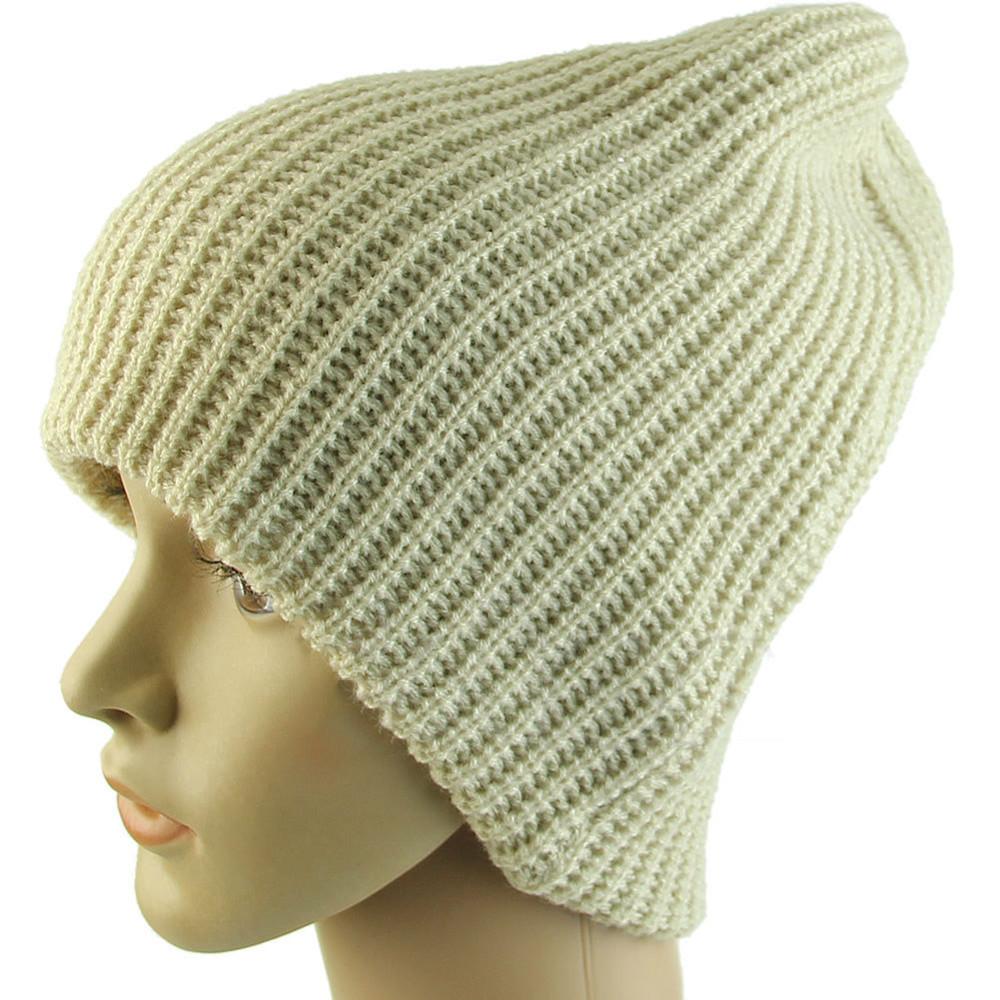 Men Women Unisex Warm Winter Knit Cap Baggy Beanie Skull Slouchy Oversize Hat...