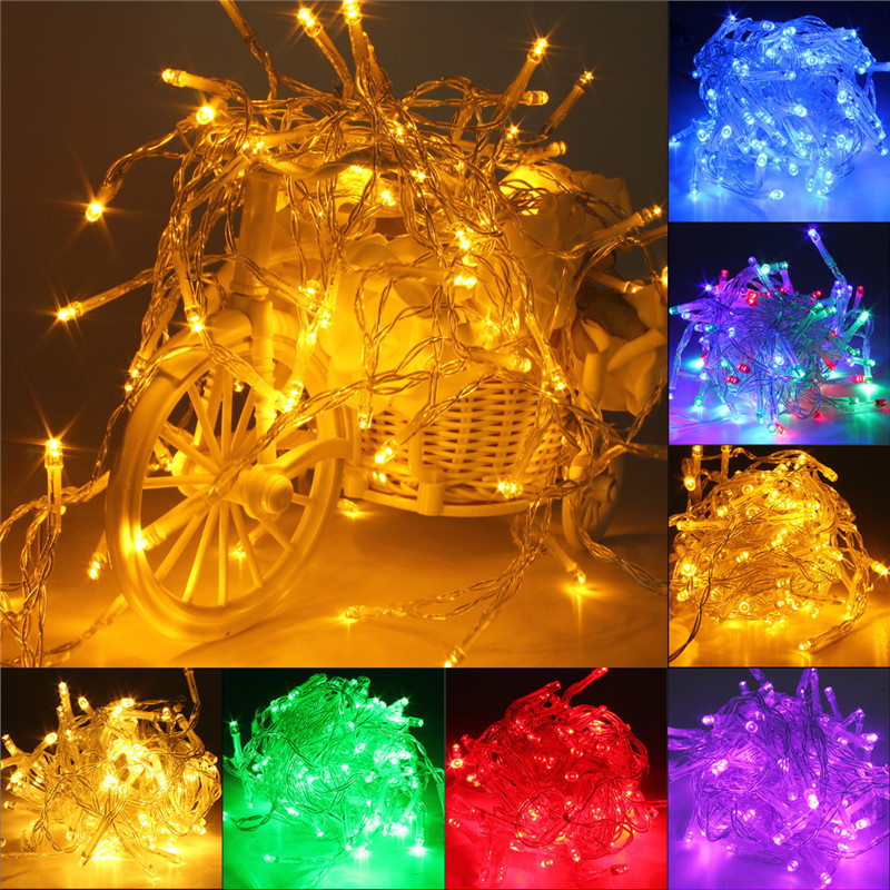 10M Battery Powered Operated LED Fairy String Light Lamp Christmas Halloween White (EXPORT ...