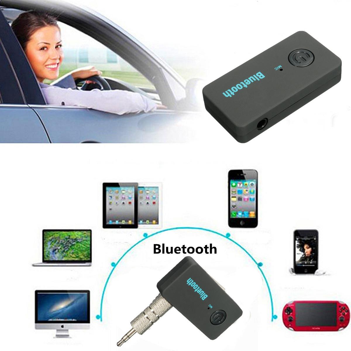 3 5mm wireless bluetooth v3 0 car home aux stereo audio receiver lazada malaysia