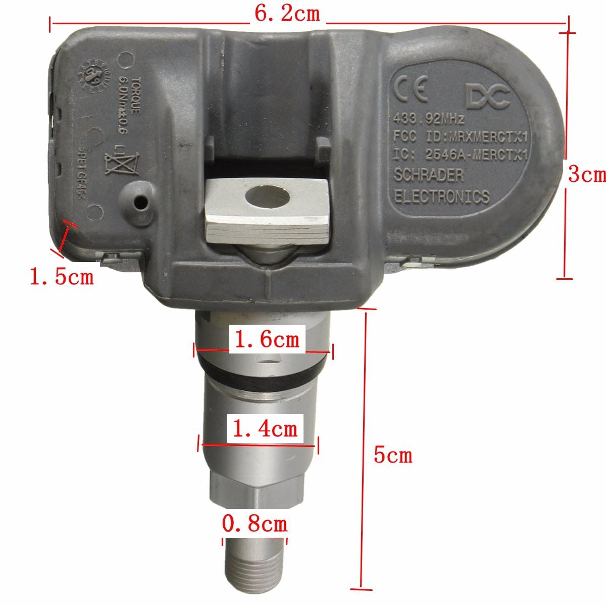 A0035400217 new smart tire pressure monitor sensor tpms for Mercedes benz tire pressure sensor