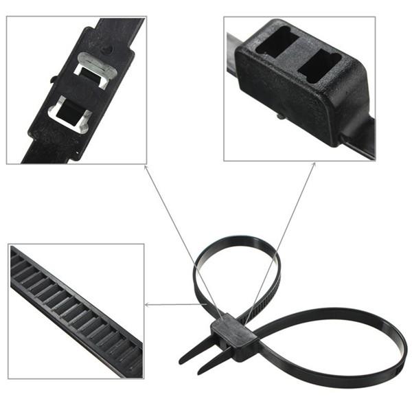 Self Locking handcuffs Disposable Flex Double Restraint Zip Tie