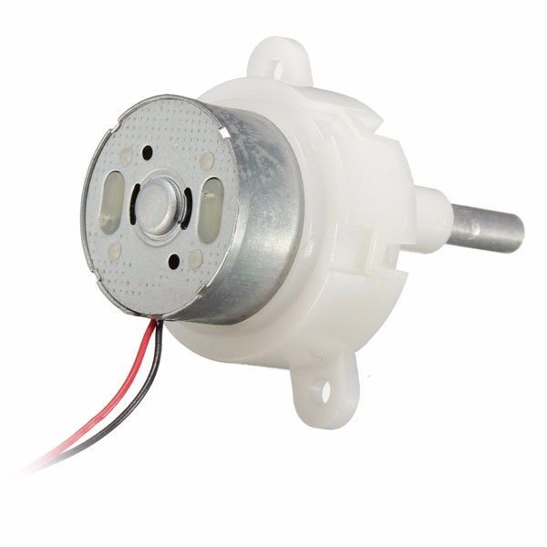 2pcs 3 12v 16rpm Worm Motor Reduction Gear Motor Electric
