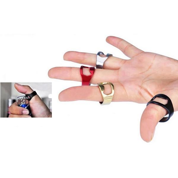 stainless steel finger ring ring shape beer bottle opener for beer bar tool alex nld. Black Bedroom Furniture Sets. Home Design Ideas