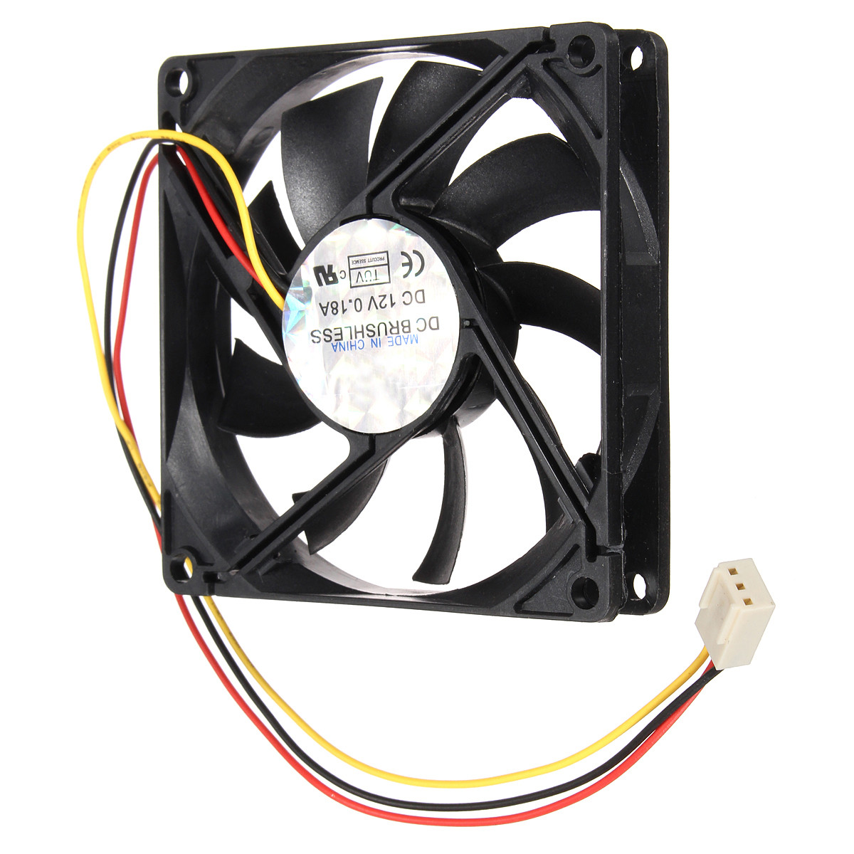 Processor Cooling Fan : Pin mm pc cpu cooling fan heatsinks radiator for