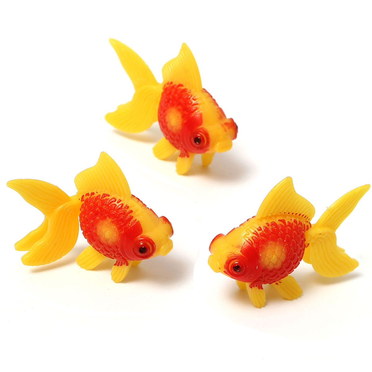 3pcs peces peces de acuario tanque de artificail for Tanques para peces