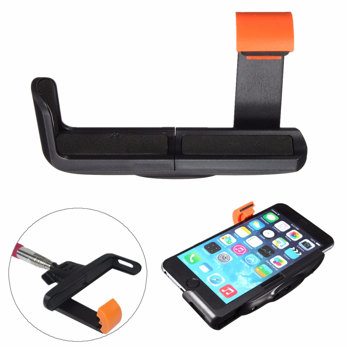 Bracket Holder Mount Adapter For Apple Android Mobile