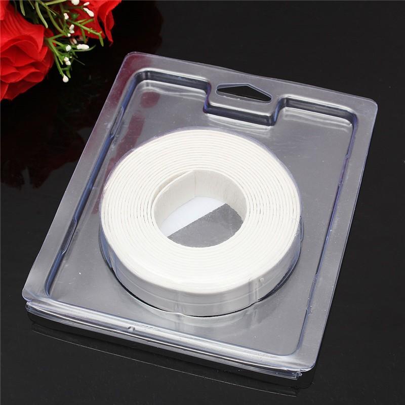 Adhesive Sealing Strip Bath Wall White Sink Basin Edge Trim Kitchen 22mm X Intl Lazada Ph
