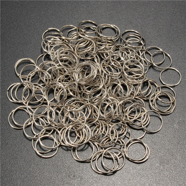 200pcs 8mm Jump Rings Open Connecctors Circle Metal Findings DIY Accessories