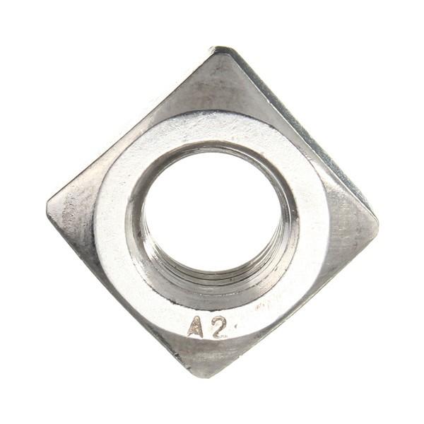 304 Quadratnuss des rostfreien Stahls metrischer m4 m5 m6 m8 m10 Fadenverschluss
